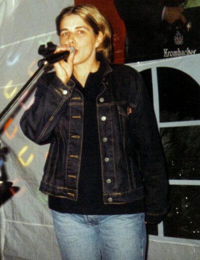 Sängerin- Alleinunterhalter