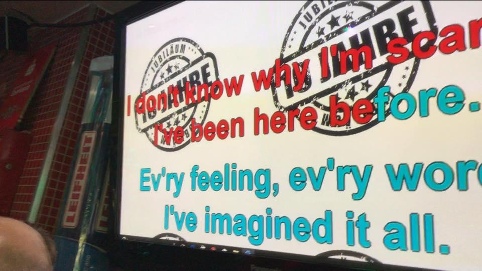 Jubiläum mit Karaoke